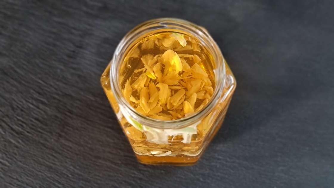 Macerat de usturoi, miere și oțet de mere
